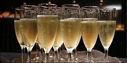 Cava y champán.