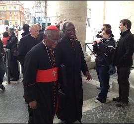 Los cardenales Turkson y Sarah