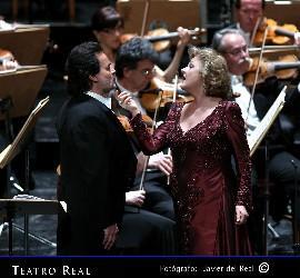 Edita Gruberova y José Bros en el Teatro Real