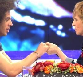 Mercedes Milá y Kristian en 'Gh14'.