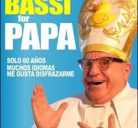 Leo Bassi, candidato a pontífice