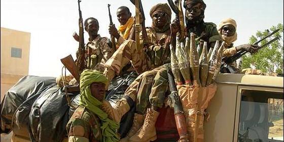 Yihadistas chadianos en la República Centroafricana