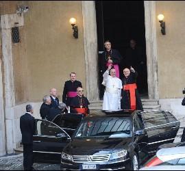 El Papa Francisco en Santa María