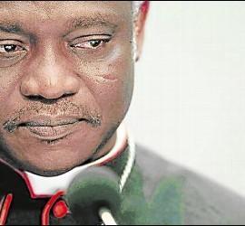 El cardenal ghanés Peter Turkson