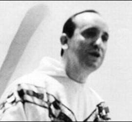 Bergoglio, en su época de seminarista
