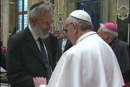 Francisco y un rabino