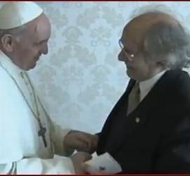 El Papa Francisco y Adolfo Pérez Esquivel