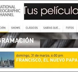 El Papa Francisco en el National Geographic