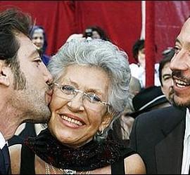 Javier, Pilar y Carlos Bardem.