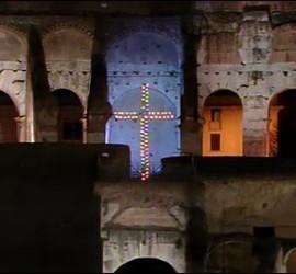 La cruz del coliseo