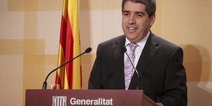 Francesc Homs, consejero de Presidencia de la Generalitat.
