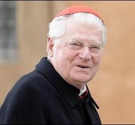 El cardenal de Milán, Angelo Scola