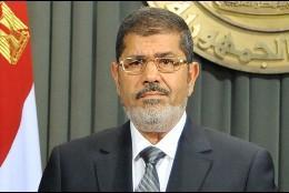 El presidente Morsi