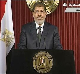 Mohamed Mursi, presidente de Egipto