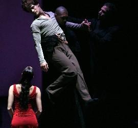 El 'Romeo y Julieta' de la CND estrenado ayer