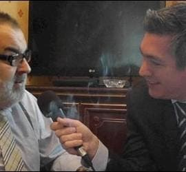 Jorge Lanata y Luis Balcarce.