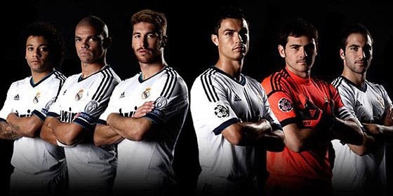 foto futbolistas real madrid: