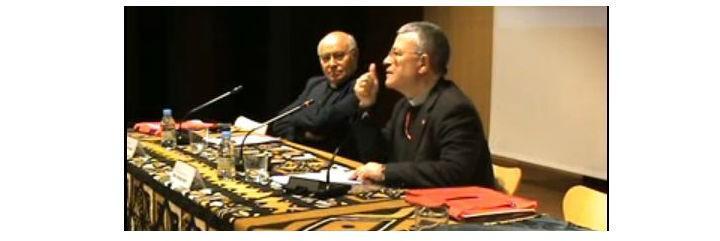 Monseñor Agrelo y Vicente Altaba