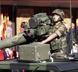 Desfile del Día de las Fuerzas Armadas.