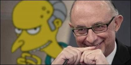 'Míster Burns' Montoro.
