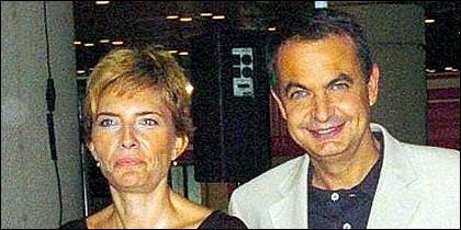 Sonsoles y Zapatero.