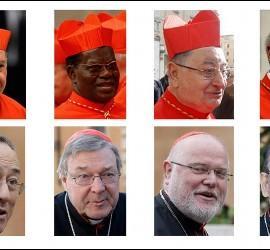 Los ocho cardenales que reformarán la curia
