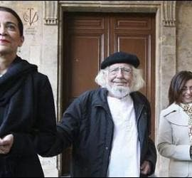 ERnesto Cardenal en Salamanca