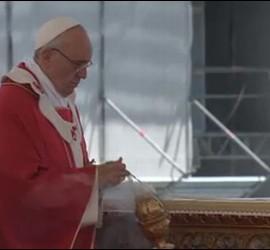 El Papa. en la misa