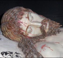 Cristo yacente, de Gregorio Fernández