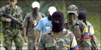 Narcoterroristas de las FARC.