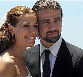 Raquel Sánchez Silva y Mario Biondo el día de su boda.