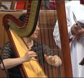 El arpa, en la adoración