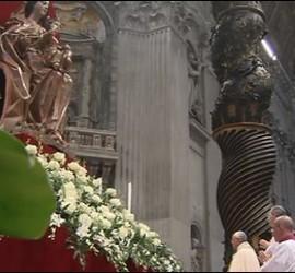 Adoracion del Papa