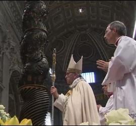Saludo a la Virgen del Papa