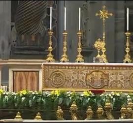 Adoracion del Papa Francisco