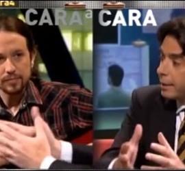 Pablo Iglesias vs Percival Manglano
