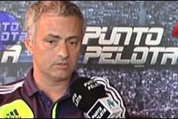 Mourinho en 'Punto Pelota'.