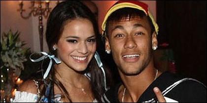 Bruna Marquezine con Neymar.