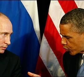 Putin y Obama.