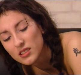 Sibel Kekilli en una escena de una de las películas pornográficas que protagonizó en el año 2000.