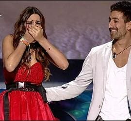 Susana e Igor en la final de GH14.