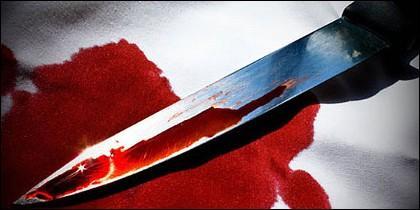 Un cuchillo semejante al empleado