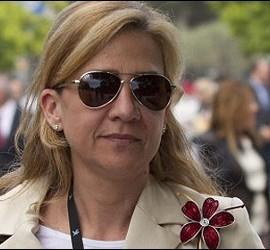La Infanta Cristina.