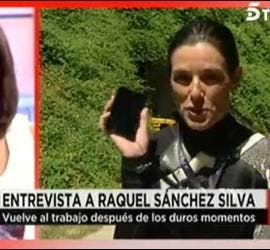 Ana Rosa Quintana entrevista a Raquel Sánchez Silva.
