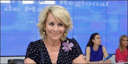 Esperanza Aguirre.