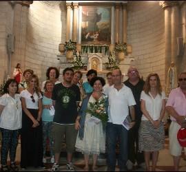 El grupo de Ain Karen y Escuelas Católicas, en Caná