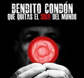 Cartel de la campaña de prevención del SIDA