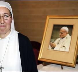La religiosa que asegura haberse curado por milagro de Juan Pablo II