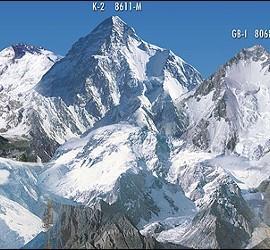 Varios de los 'ocho miles' del Himalaya.