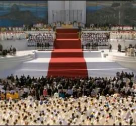 Altar de la misa final de la JMJ